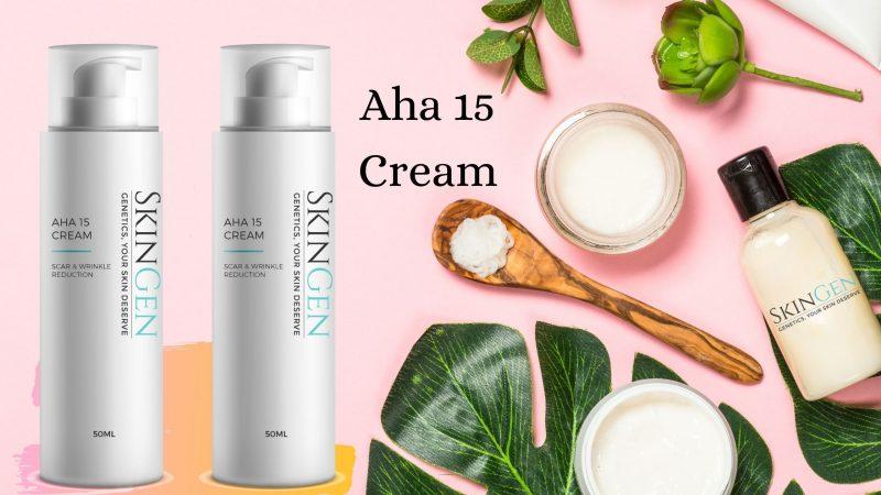 Maintain your Skin Health with Aha 15 Face Cream and Vitamin C Cream